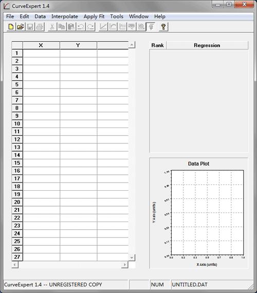 Start Curve Expert 1.4