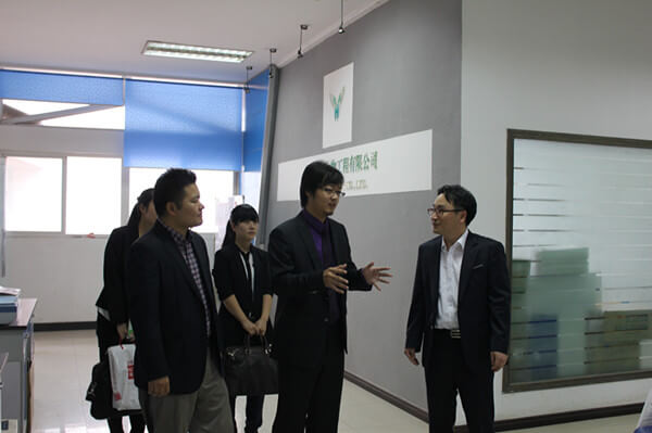 The visit from Cosmo Genetics in Korea