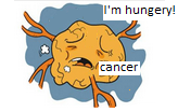 The worry of a cancer cell