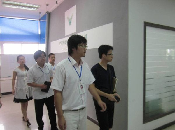 France Protegenix's office in China takes a visit to our company