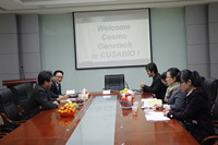 The second visit from Cosmo Genetech in Korea