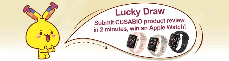 Lucky Draw - Cusabio