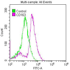 Flow Cytometry(FC) - CD163 Antibody